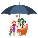travel insurance icon